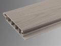 Driftwood upvc plastic 100% polymer skinned decking deck board