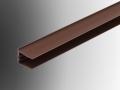 end cap 16mm polycarbonate sheet trim section profile u pvc plastic