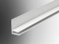 side flashing 10mm polycarbonate sheet trim section u pvc plastic