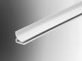 Hygienic cladding corner trim pvc plastic extrusion