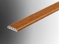 upvc plastic extrusion D mould profile 28mm trim