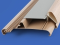 PAL Extrusions asthetic wood effect profiles for caravans