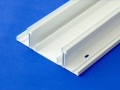 Trucking wire cable management electrical plastic extrusions