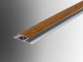 pvc plastic soffit roofline H joint trim section