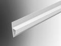 soffit flat felt starter trim profile pvc plastic extrusion