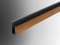 soffit starter j trim pvc profile plastic extrusion