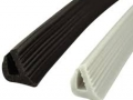 Extrusion flexible edge trim buffer bumper trim section profile gasket