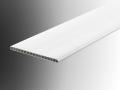 65mm architrave flat trim section profile u pvc plastic