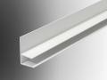 upvc glazing polycarb sheet end cap detail profile plastic extrusion
