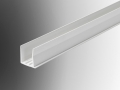 poly carbonate sheet end capping upvc profile extrusion pvc plastic