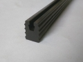 extruded flexible panel trim edge seal wedge gasket extrusion pvc