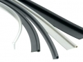 plastic extruded various seal gaskets glazing window trims pvc flexible