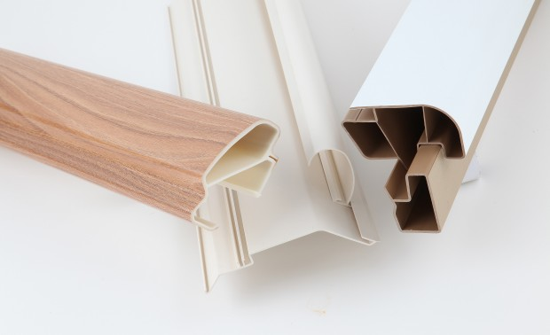PAL Extrusions rigid plastic extrusions included paper wrapped profiles